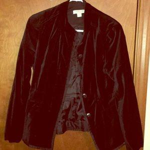 Gorgeous black velvet blazer, sz 10